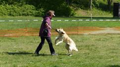 Malu und Marion beim Spiel