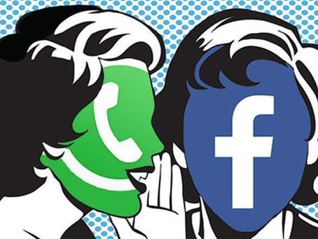 WhatsApp começa a compartilhar dados com Facebook; entenda o que muda...