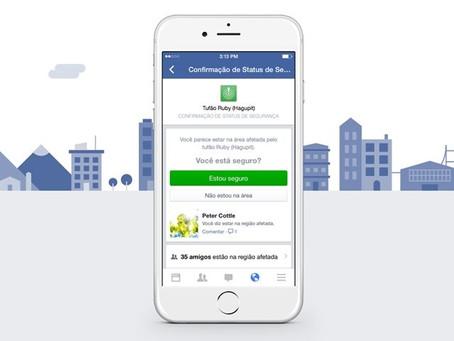 Agora qualquer um poderá acionar o Check-in de Segurança no Facebook