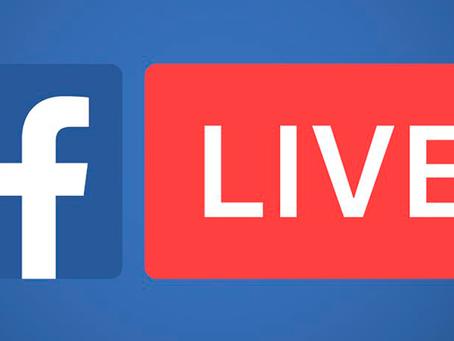 Facebook Live: convide os seus amigos para a sua live!