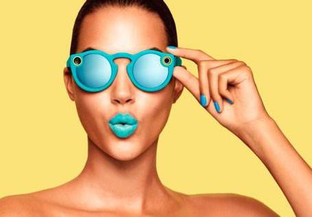 """Snapchat agora é """"Snap"""" e lança os Spectacles, os seus óculos com câmera."""