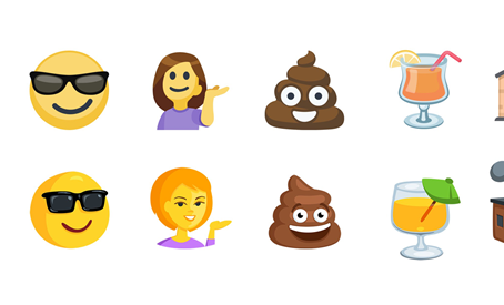 Facebook ganha emoji de palavrões e de algumas profissões.