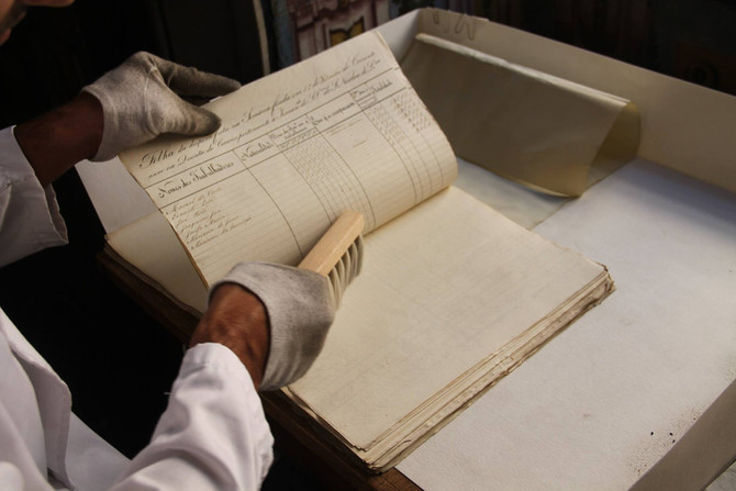 Restoration Project: Organization and Diffusion of the Historical Archive of São Nicolau Parish.