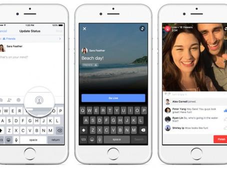 Qualquer utilizador do Facebook vai ter acesso ao Live Video
