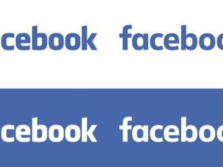 O Facebook tem um novo logótipo. Consegue encontrar as diferenças?