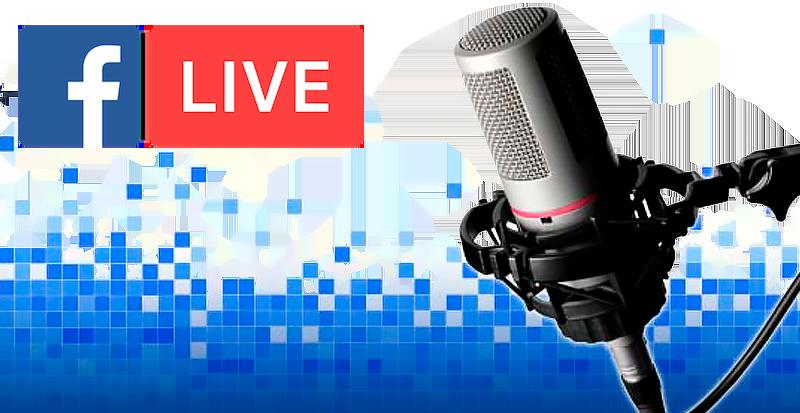 audio facebook live