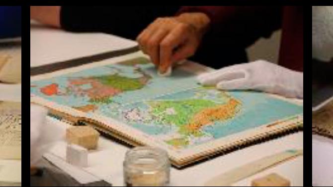 """Workshop - """"Conservação de Documentos e Livros em Papel"""""""