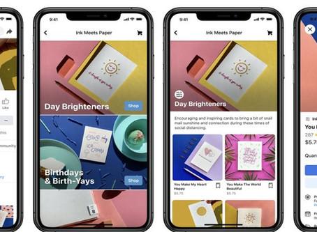 Facebook ganha divisão para lojas similar ao Instagram