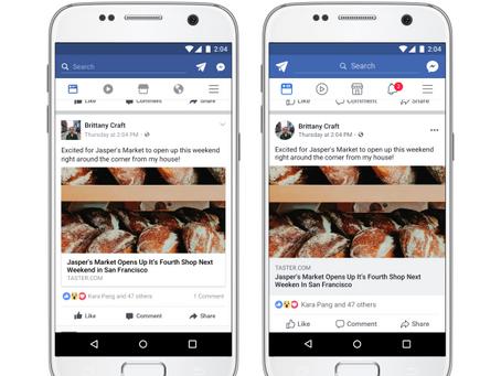 Facebook vai mudar o design da Linha do Tempo.