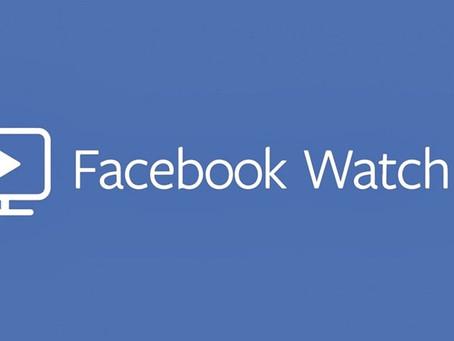 Facebook Watch: plataforma de vídeos aumenta 80% de audiência em 6 meses