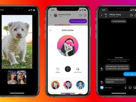 Facebook já permite que os utilizadores falem no mesmo chat entre Messenger e Instagram