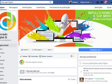 Páginas Profissionais de Facebook com layout totalmente renovado.