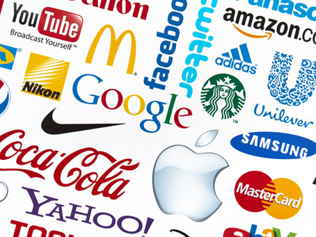 As Marcas Mais Populares Estão nas  Redes Sociais.