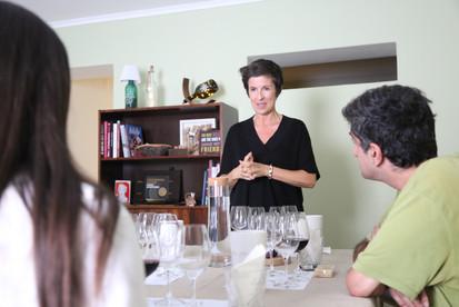 Sommelier | Teresa Gomes | The Wine Flat | Class Room