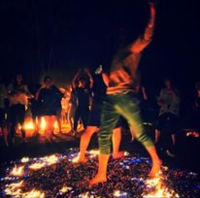 Fire Walking India