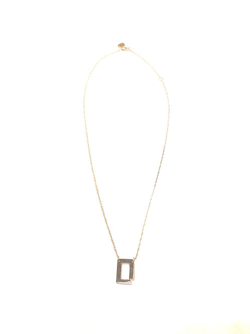 Jane Basch Designs Initial with Diamond Accent Necklace