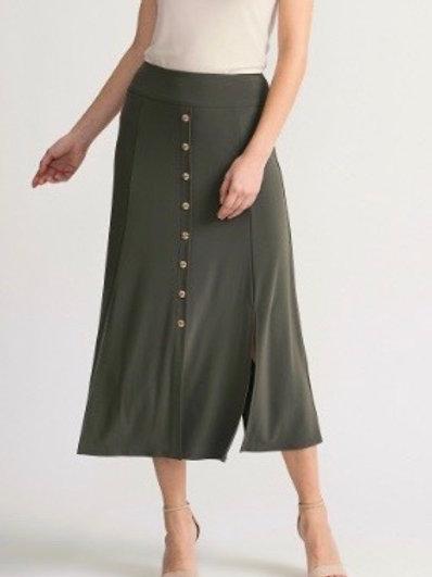 Joseph Ribkoff BlackJersey Slit Skirt
