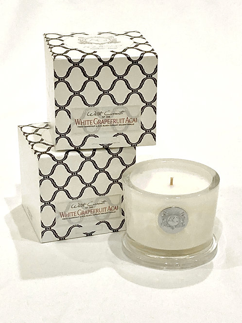 Aquiesse White Grapefruit Soy Candle