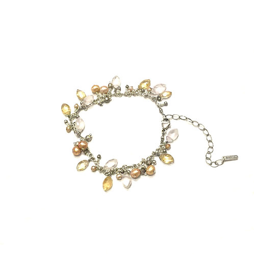 Chan Luu Citrine Adjustable Bracelet