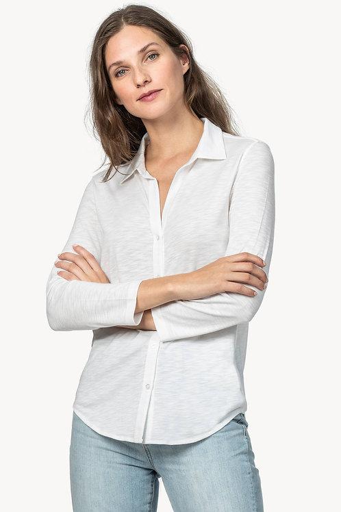 Lilla P 3/4 Sleeve Button Down Shirt