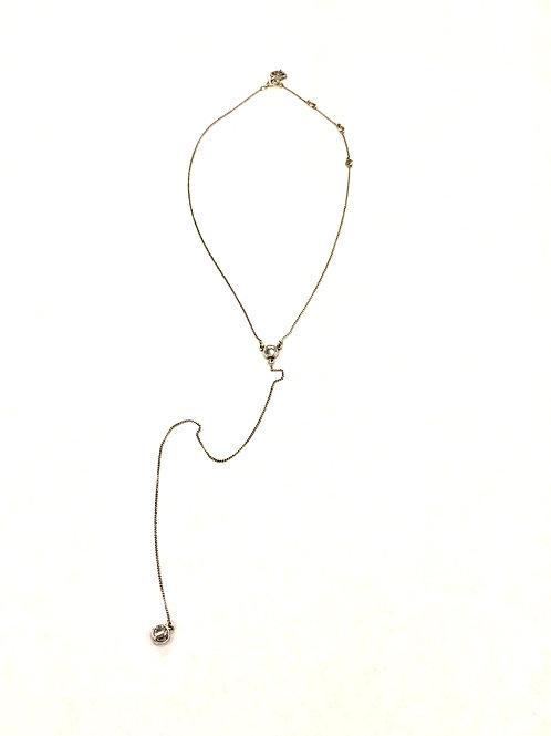 Virgins, Saints & Angels Adjustable Silver Necklace