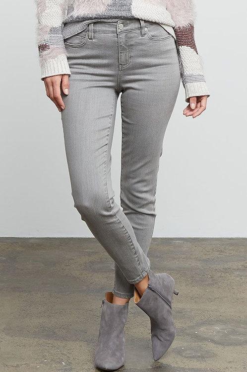 Nic + Zoe Grey Mist Skinny Jean