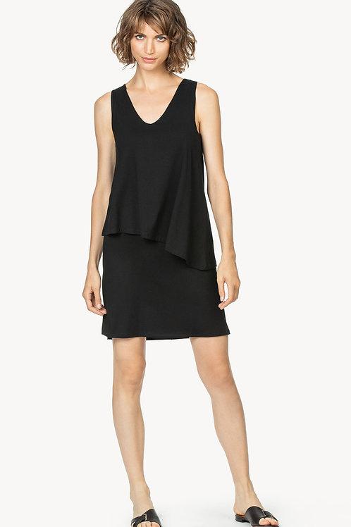 Lilla P V-Neck Double Layer Dress