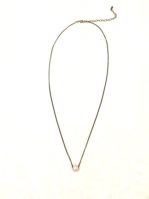 Chan Luu Short Adjustable Chain with Fresh Water Pearl