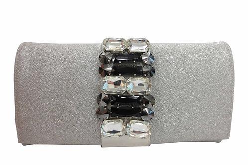 Sondra Roberts Clutch   Crystal Combo