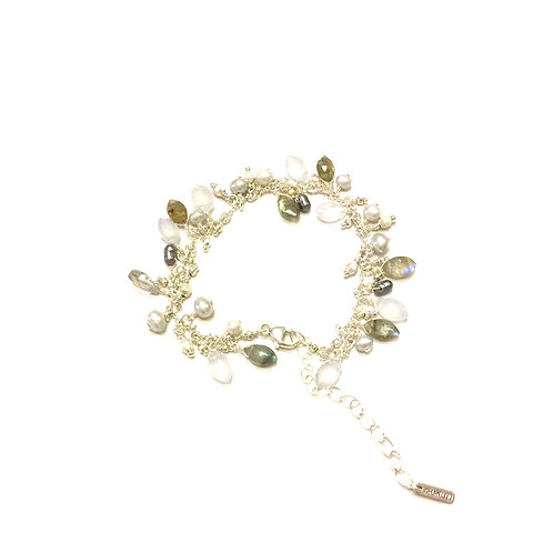 Chan Luu  Labradorite Mix Adjustable Bracelet