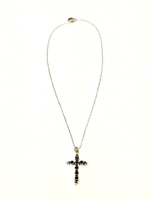 Jane Basch Designs Diamond Lock Necklace