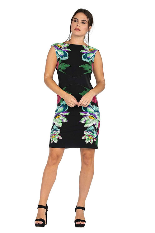 Eva Varro Floral Sleeveless Dress