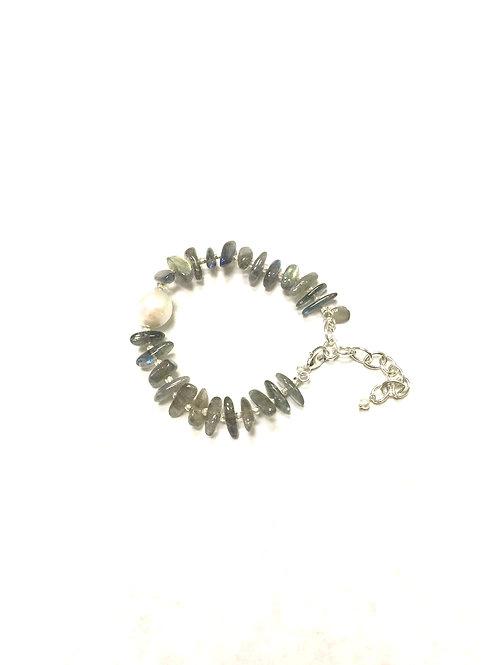 Chan Luu  Labradorite Adjustable Bracelet