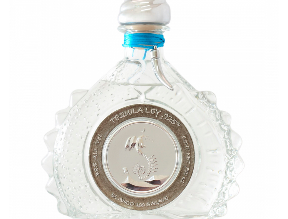 Tequila Ley Premium .925 Blanco de 750 ml.