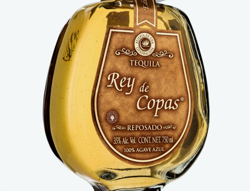 Tequila Rey de Copas Reposado de 750 ml.