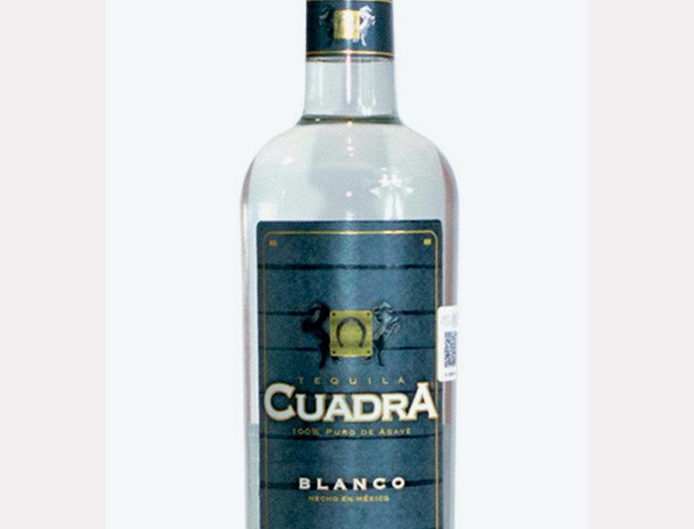 Tequila Cuadra Blanco de 1 Lts.