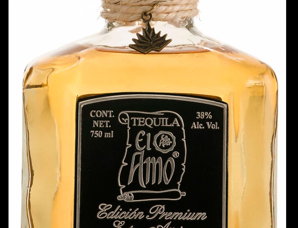 Tequila El Amo Premium Extra Añejo de 750 ml.