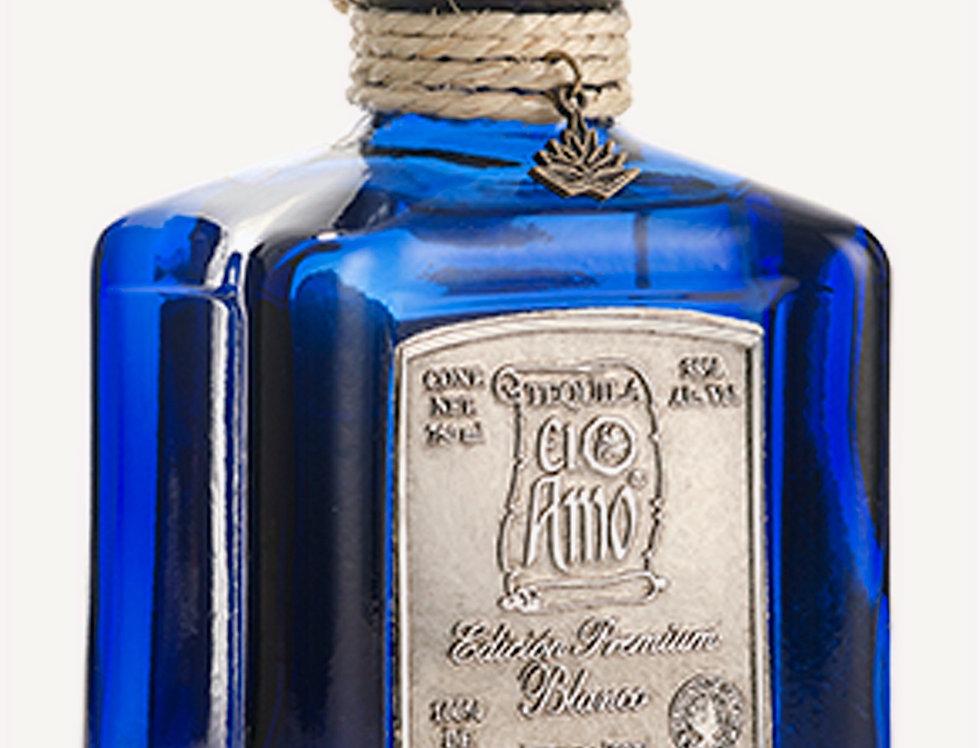 Tequila El Amo Premium Blanco de 750 ml