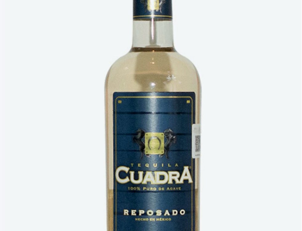 Tequila Cuadra Reposado de 1 Lts.