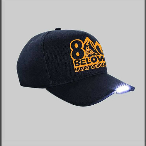 Baseball Cap with LED Light