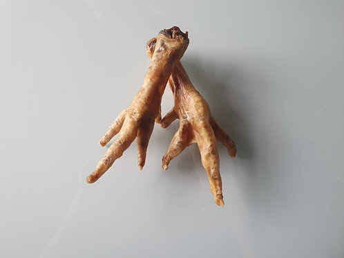 Natural Chicken Feet - sold in packs of 10 or 1kg