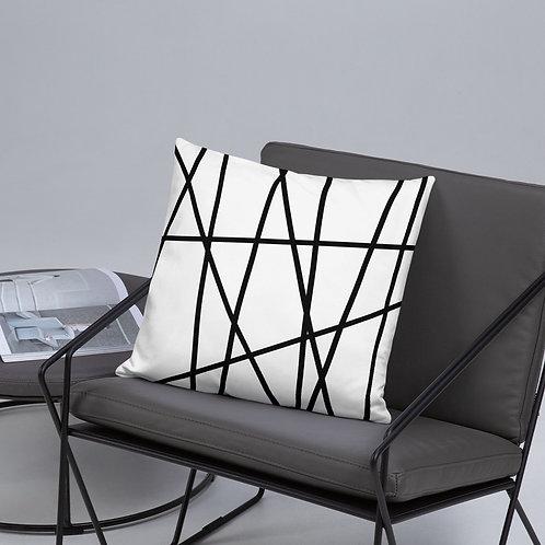 Geometric Lines Pillow