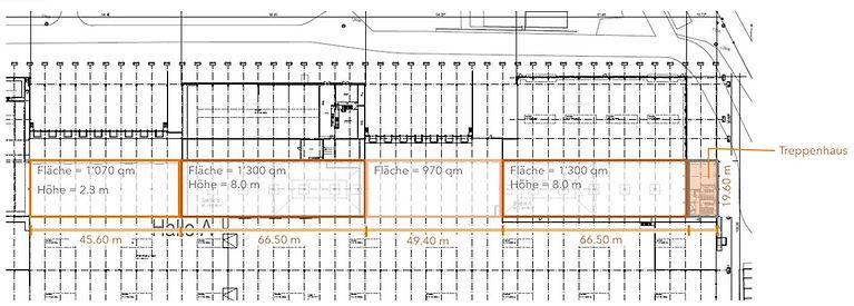 210623 Halle A technische Zeichnung - Fl
