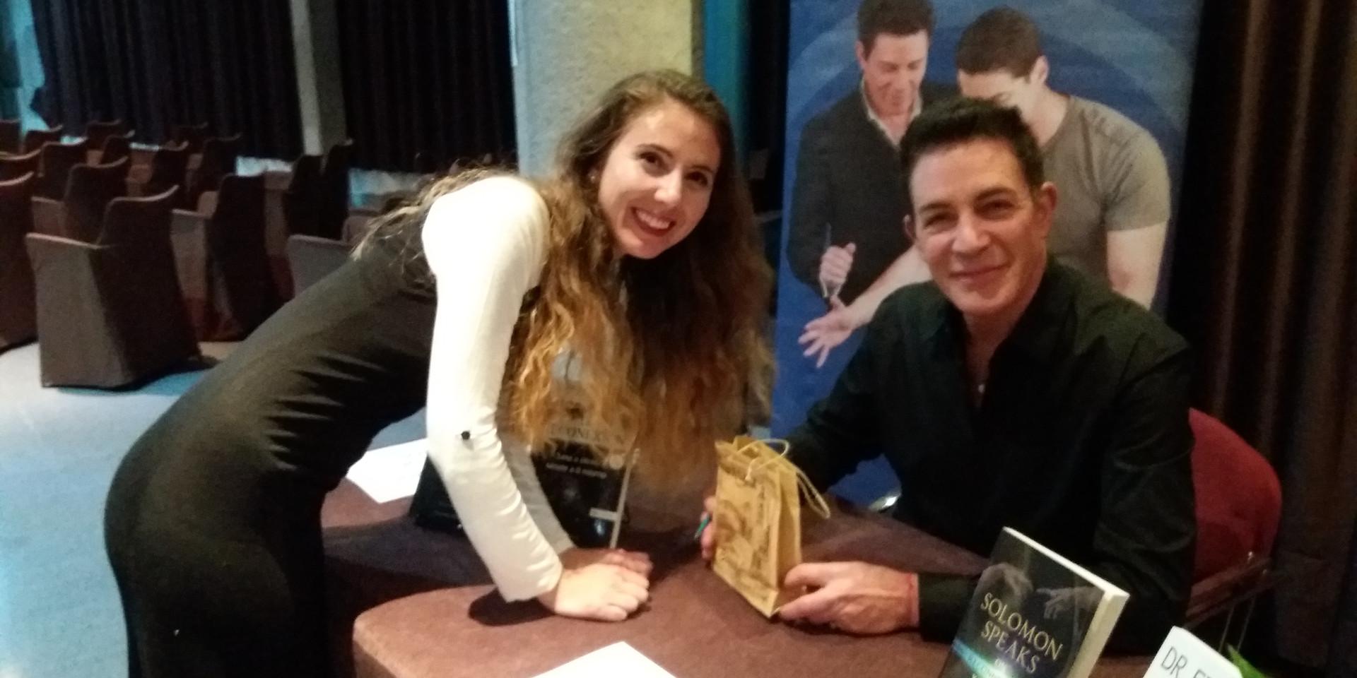 Tanya Hadzhieva and Eric Pearl