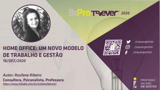 HOME OFFICE: UM NOVO MODELO DE TRABALHO E GESTÃO