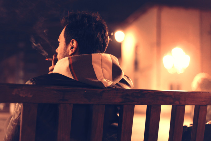 WHY SCHIZOPHRENICS BECOME ADDICTED TO CIGARETTES