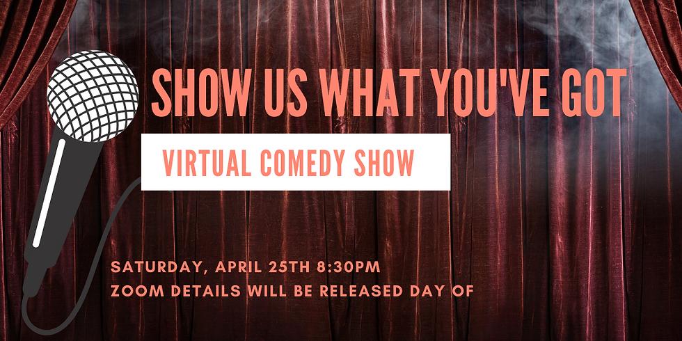 Virtual Comedy Show (FREE)
