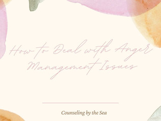 How to Deal With Anger Management Issues?