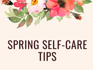 Spring Self-Care Tips