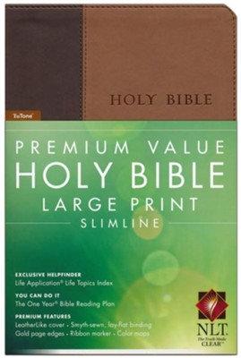 Premium Value Holy Bible Large Print Slimline NLT
